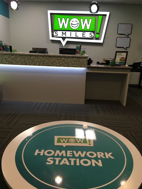 Wow Smiles homework station